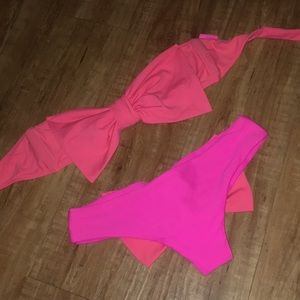 Pink/Peach Lolli bikini 💕